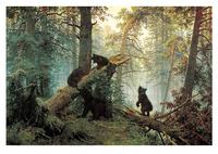 Утро в сосновом лесу (1889). Иван Шишкин