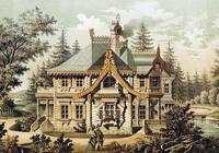 Загородный дом. 1877 год