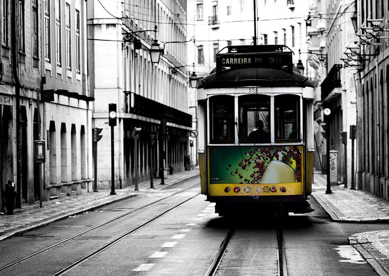 Открытки из лиссабона с трамваем