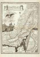 Карта Байкала. Россия, 1814