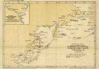 Отчетная карта гидрографических работ. 1899