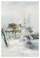 Зима (1873). Алексей Саврасов