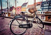 Старый велосипед в Копенгагене