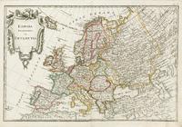 Европа. Новый атласъ, 1793