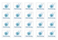 Postcrossing, 20 наклеек для посткроссинга